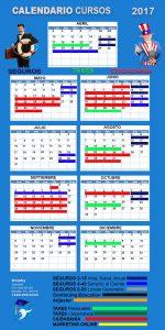 Calendario de cursos 2017 dolphy school